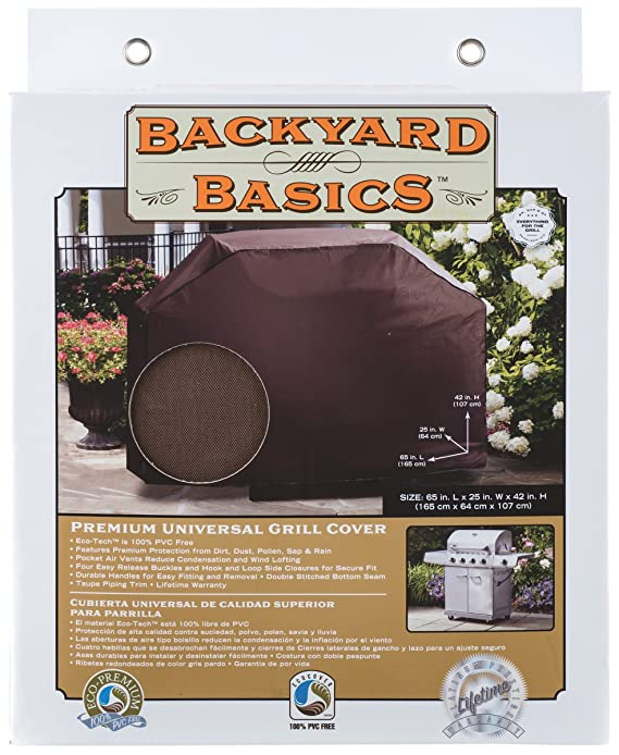 Amazon.com : Backyard Basics Premium Universal Grill Cover ...