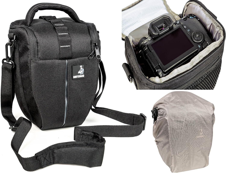 Pequeña bolsa de Cámara DSLR Hombro Acolchada Bolsa Caso para Canon 760D 77D Nikon D5300
