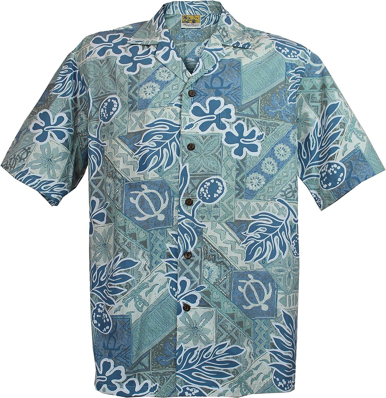 Ulu Hawaiian Aloha Shirt; Made in Hawaii