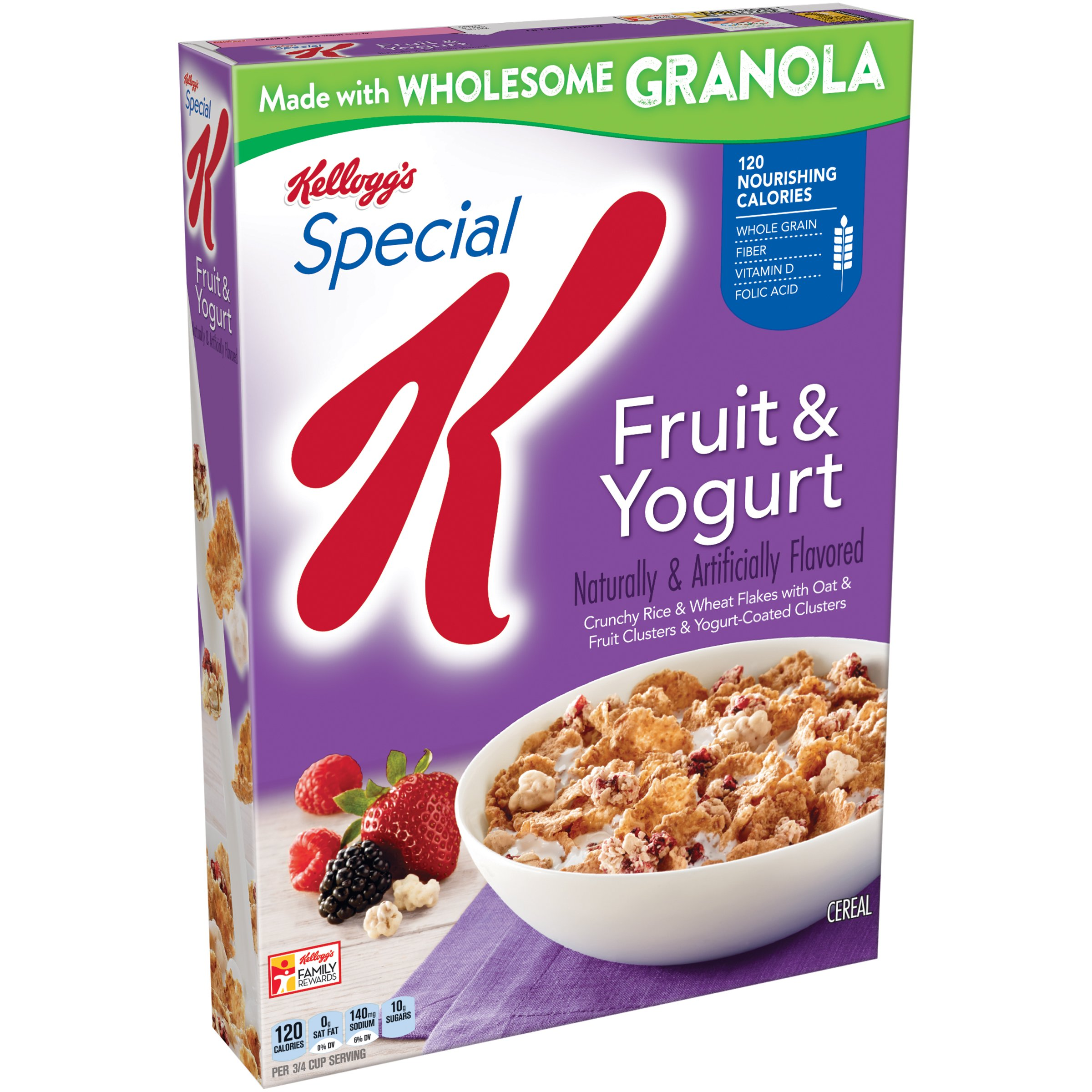 Amazon.com: Kellogg's Special K Cereal, Protein, 12.5 ...