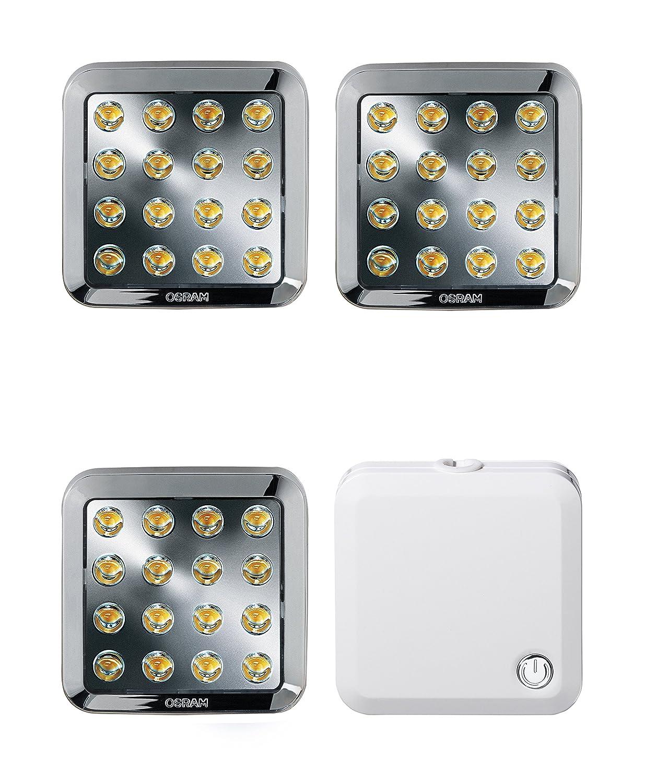 OSRAM QOD LED-Unterbauleuchte Set/3 x 3,5 Watt/energieeffizientes ...