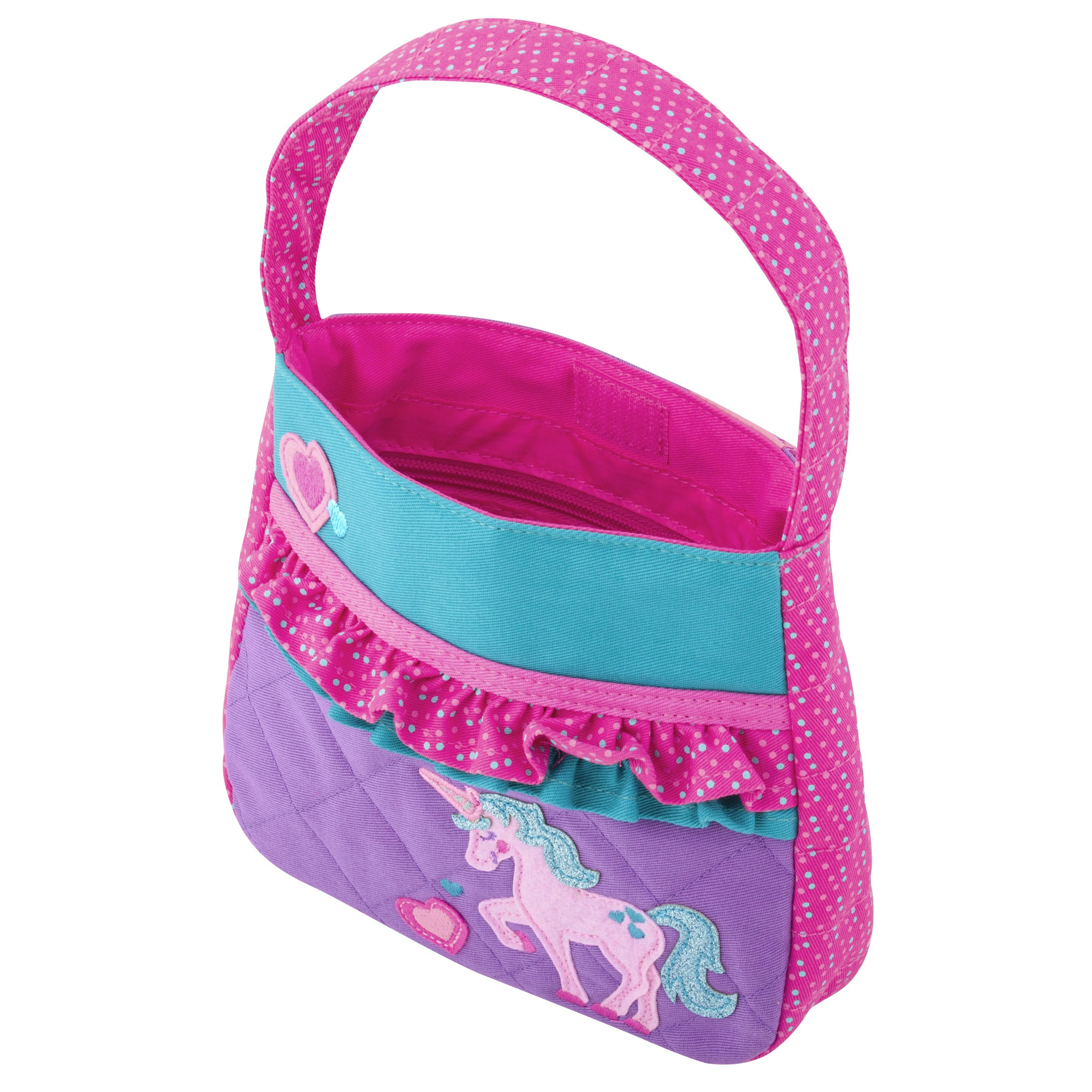 Stephen Joseph Little Girls' Quilted Purse, Unicorn, One Size by Stephen Joseph (Image #3)
