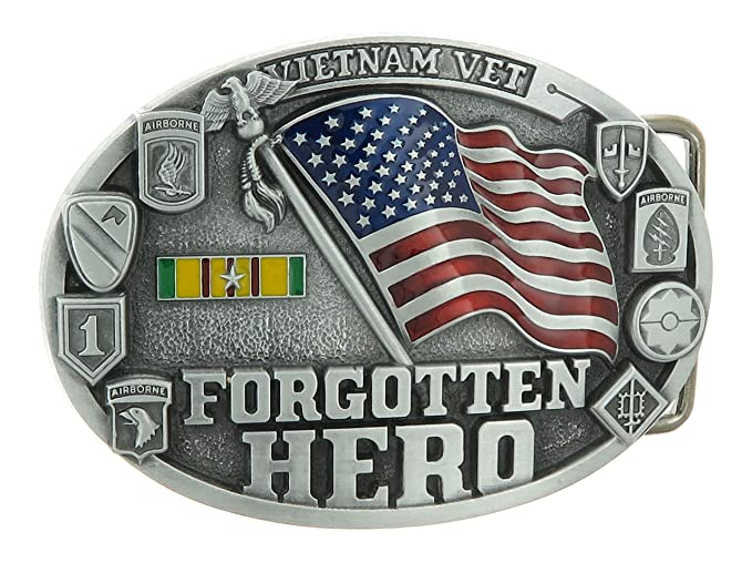 Amazoncom Vietnam Vet Veteran Forgotten Hero Us Military Belt - Us-military-vet