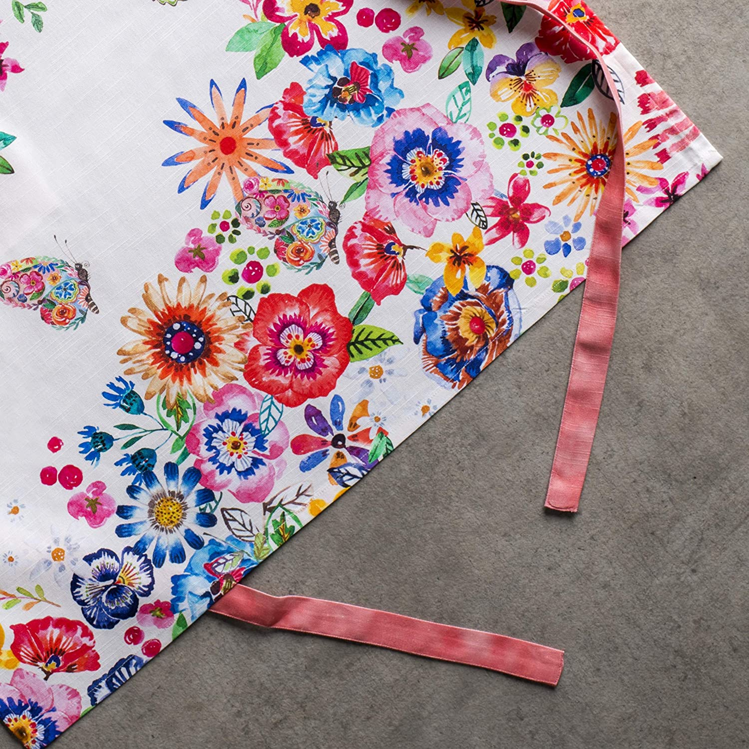 Kitchen & Table Linens Maison d Hermine Blossom in Spring 100 ...