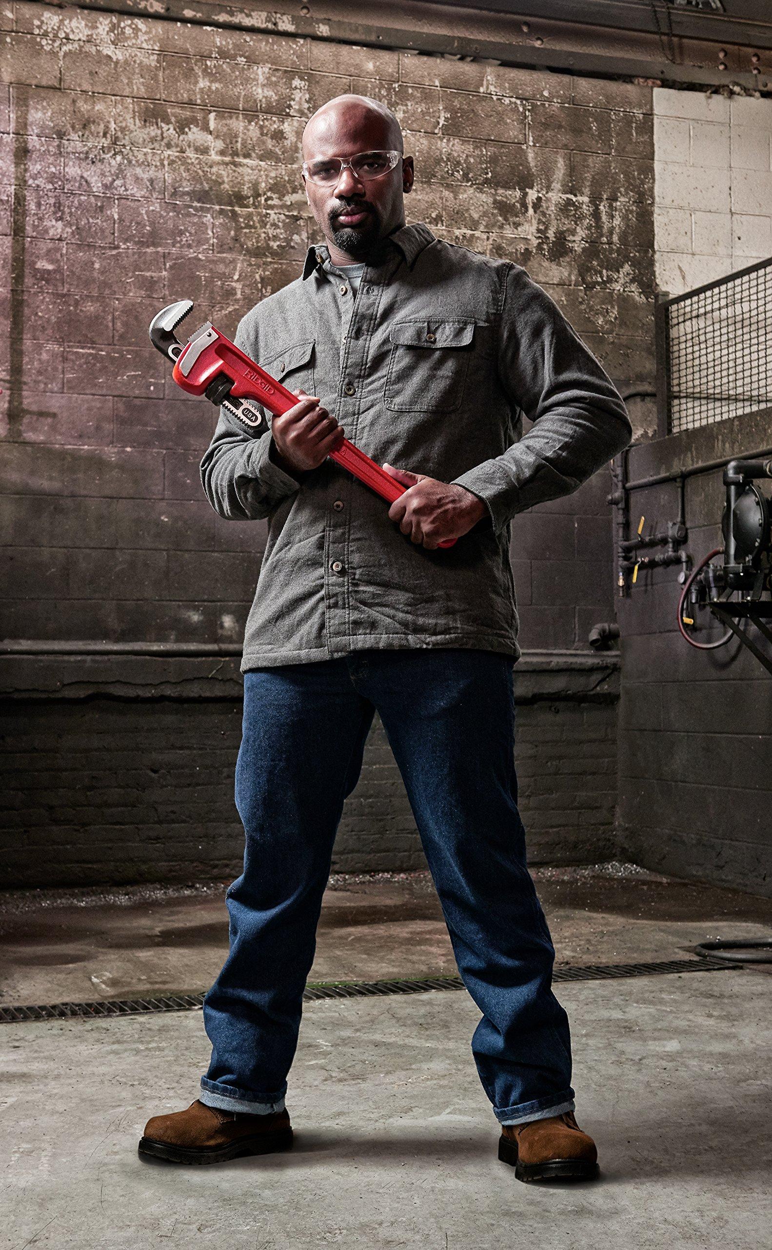 RIDGID 31030 Model 24 Heavy-Duty Straight Pipe Wrench, 24-inch Plumbing Wrench by Ridgid (Image #6)