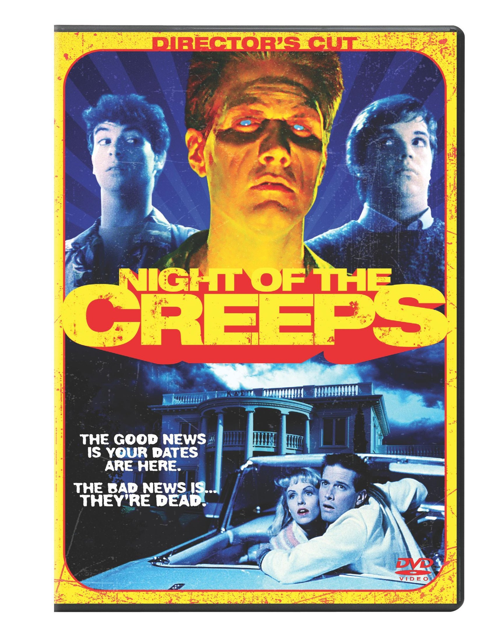DVD : Night Of The Creeps (Dolby, AC-3, , Unrated Version, Widescreen)