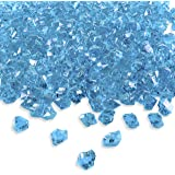 Amazon Com 2 Pounds Of Blue Acrylic Ice Rock Vase Gems Or Table Scatters Arts Crafts Amp Sewing