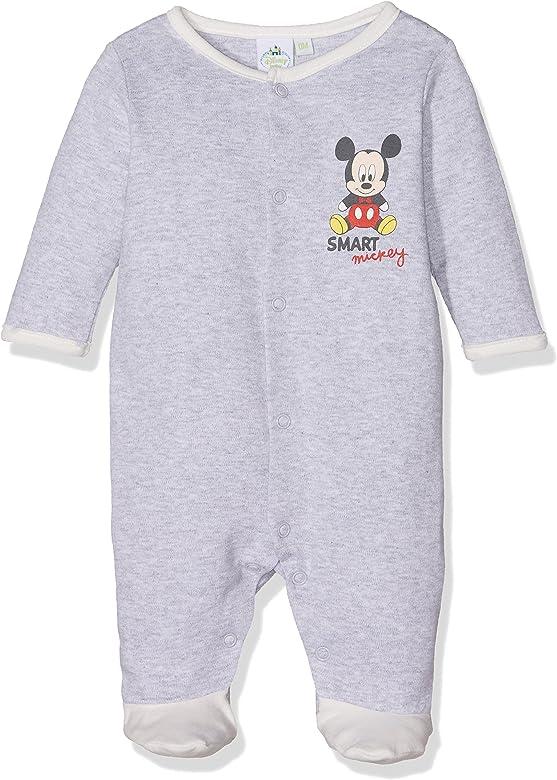 Disney Baby Boys Mickey Mouse Smart Romper