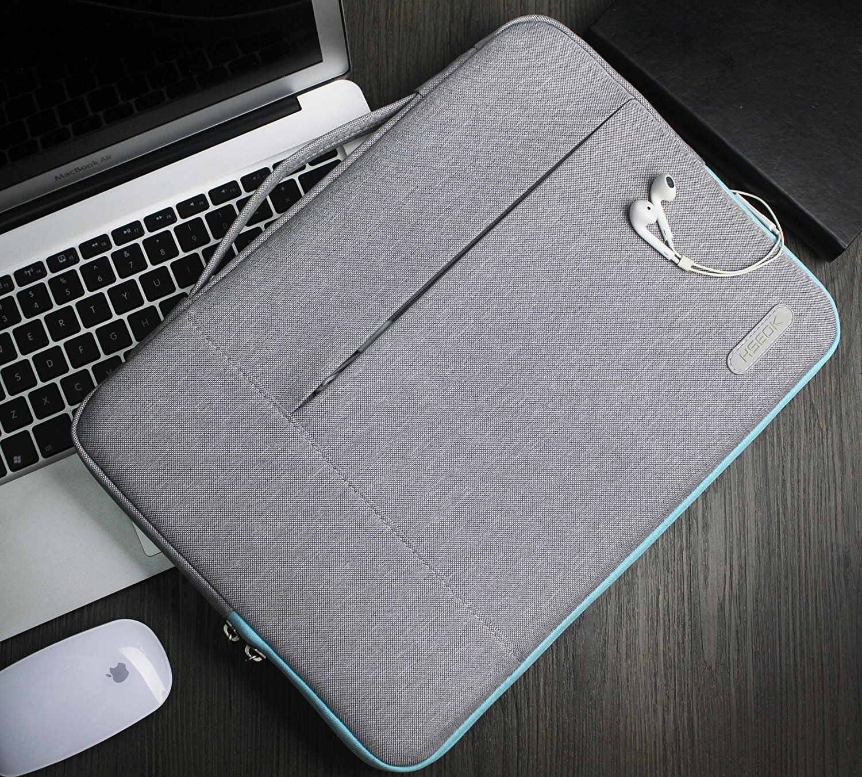 Gris HSEOK 13 Pulgadas Funda para MacBook Pro | 2018 MacBook Air Retina A1932 Estilo Elegante Bolsa Protectora para m/ás 13 Pulgadas Laptops Impermeable Ordenador Port/átil Caso 2016-2018