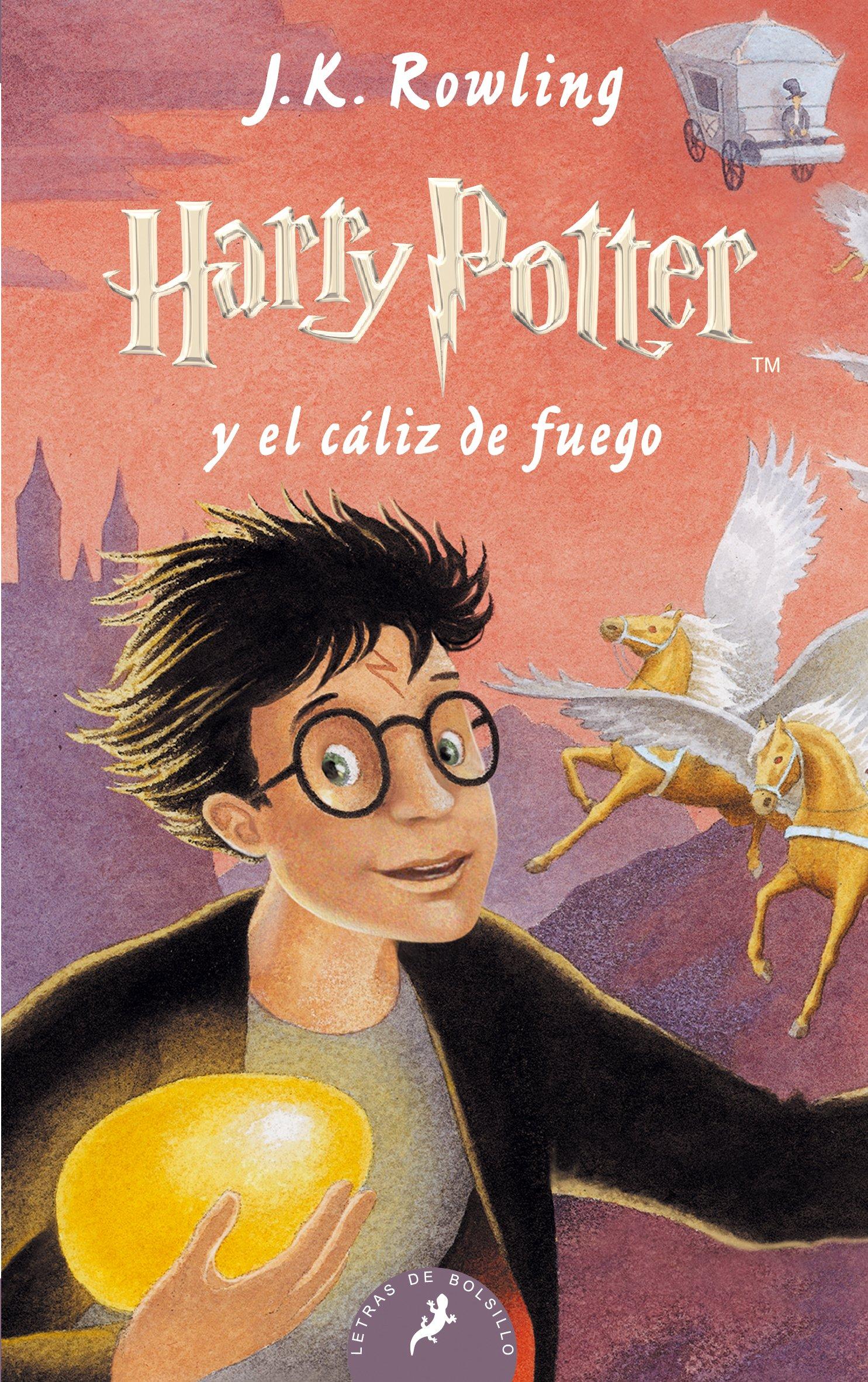 Read Online Harry Potter - Spanish: Harry Potter Y El Caliz De Fuego - Paperback (Spanish Edition) PDF
