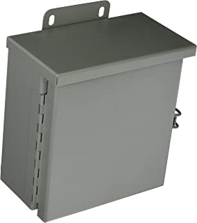 Wiegmann SC0606 Surface Mount Cover Only for SC-Series Enclosures Painted Steel S6 x 6