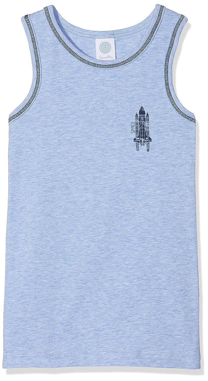 Sanetta Jungen Unterhemd Shirt W/O Sleeves W.Print 334153