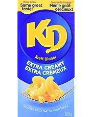 Kraft Dinner Extra Creamy Macaroni & Cheese, 200g
