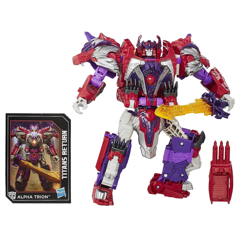 Transformers B8352EL20 Generations Titans Return Autobot Sovereign and Alpha Trion Juguete: Amazon.es: Juguetes y juegos