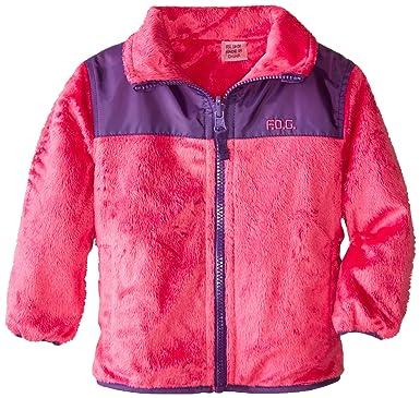 0ef70ecf00bd Amazon.com  London Fog Baby-Girls Infant Reversible Fleece Jacket ...