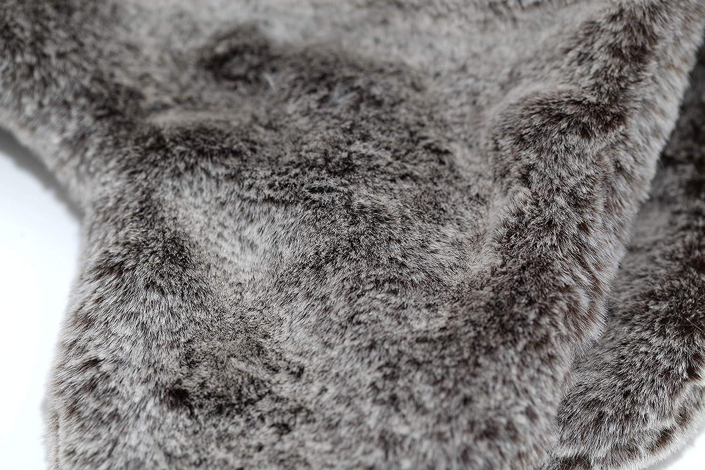 accsa Kids Unisex Christmas Elk Fur Trapper Winter Warm Beanie with Earflap