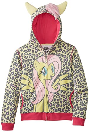 bbec5e89859 Amazon.com  My Little Pony Girls  Pony Costume Hoodie (Toddler Little Big)   Clothing