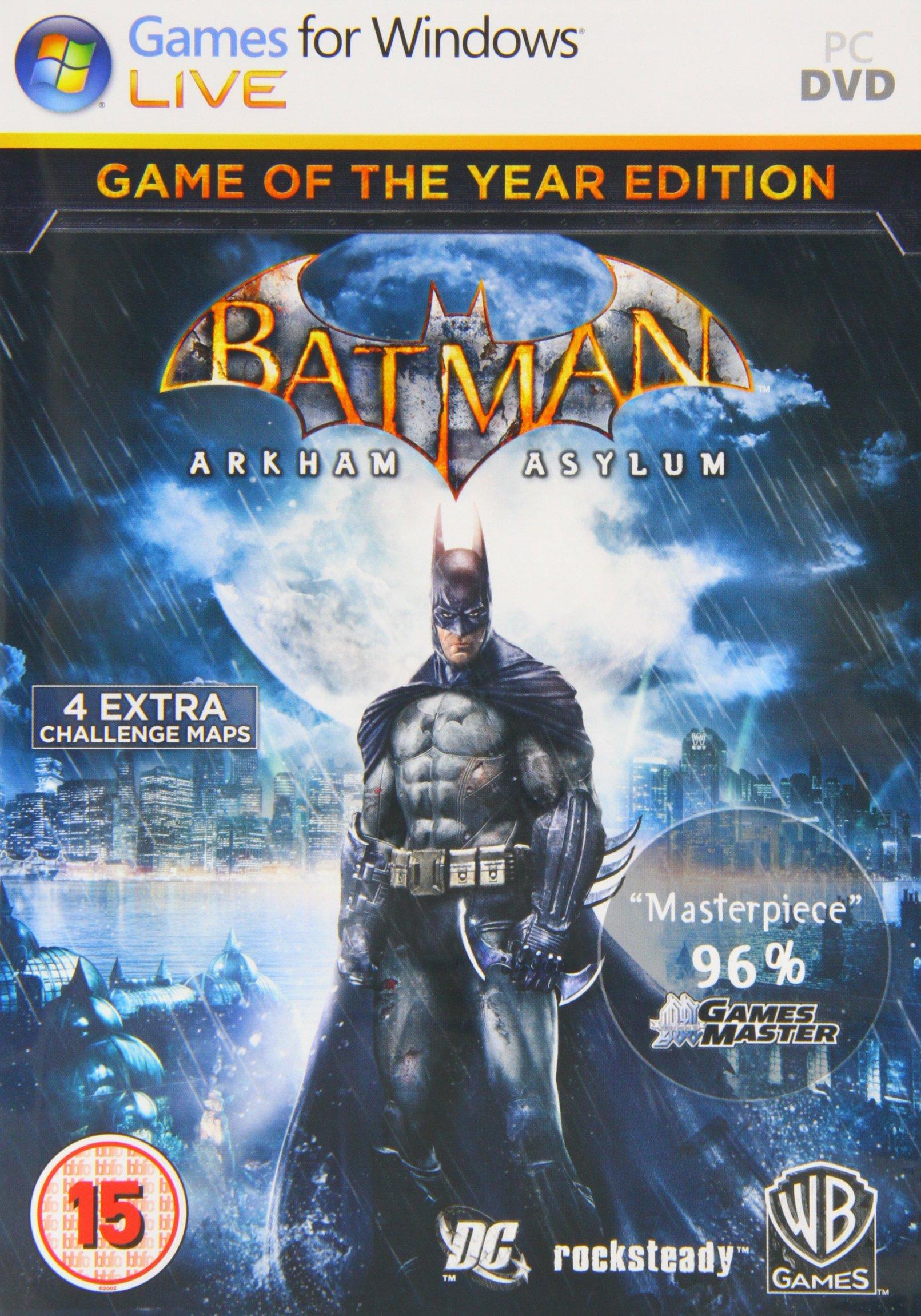 Steam community:::: batman: arkham asylum game of the year.