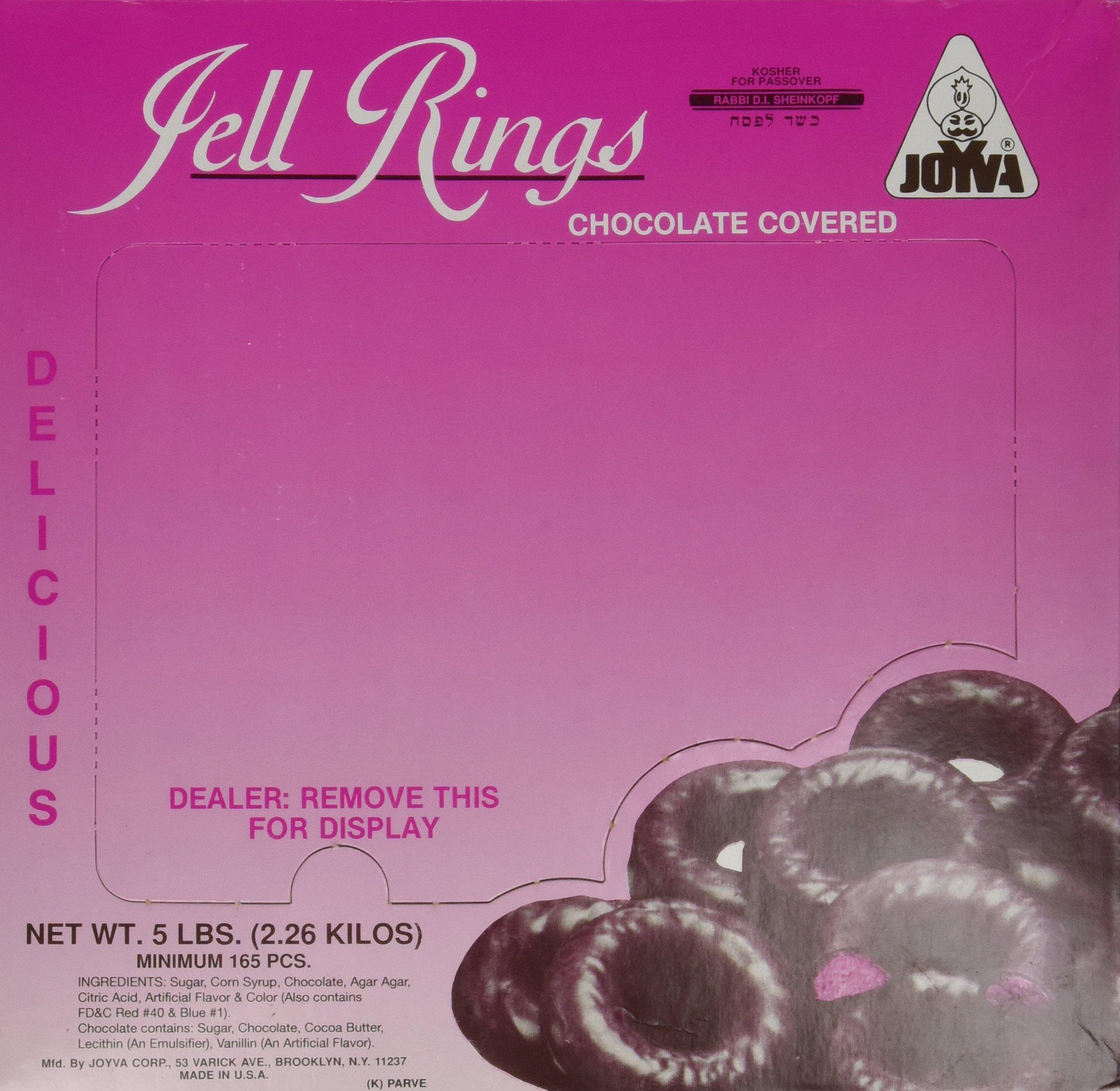Chocolate Covered Jelly Rings by Joyva 5lbs by Joyva (Image #4)