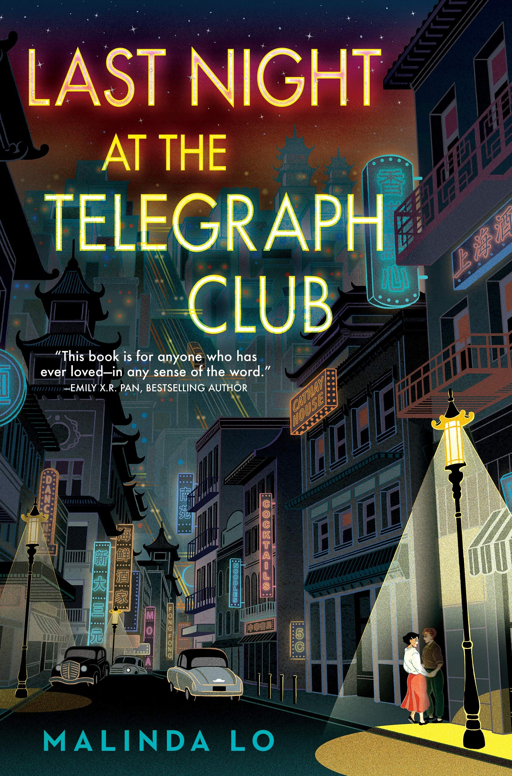 Amazon.com: Last Night at the Telegraph Club (9780525555254): Lo, Malinda:  Books