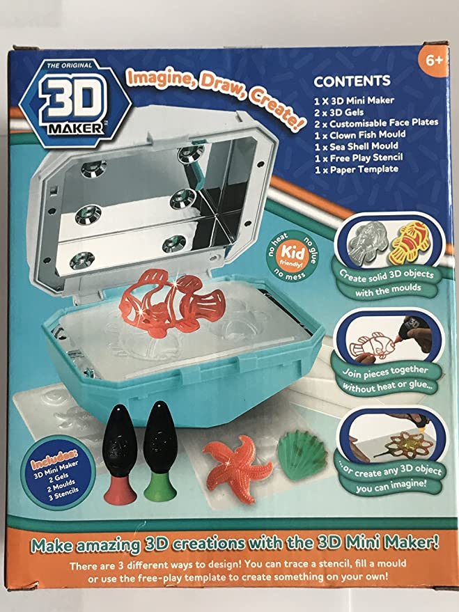 3d Mini Maker Mookie Amazon Toys Games