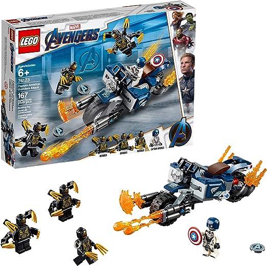 LEGO Superhelden Unendlichkeit Krieg Captain America Bart Minifigur 2018 Von
