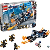 LEGO Marvel Avengers Captain America: Outriders Attack 76123 Building Kit (167 Piece)