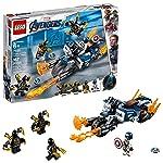 LEGO Marvel Avengers Endgame, Capitán América: Ataque de Los Outriders, 76123