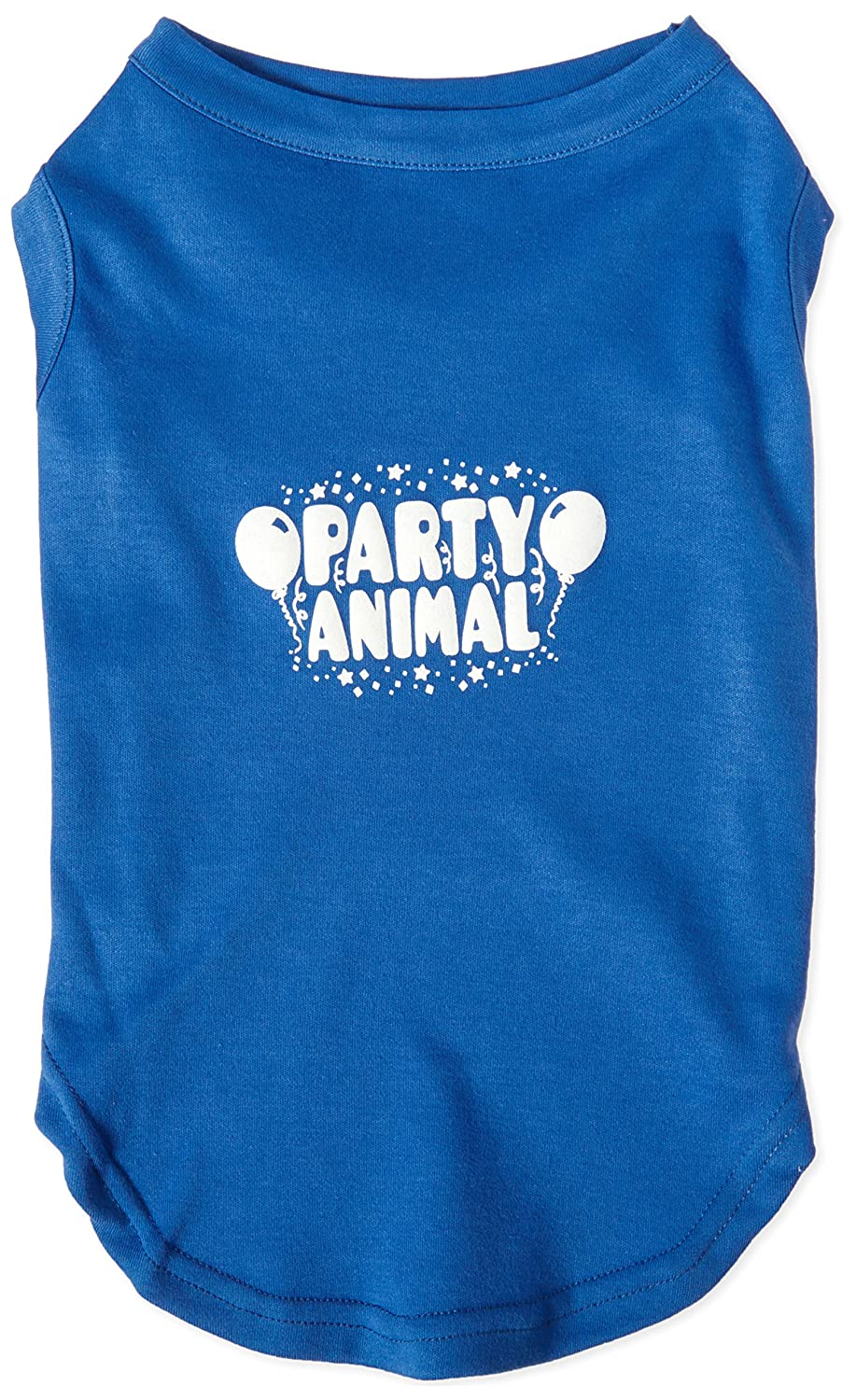 Mirage Pet Products Party Animal Screen Print Shirt bluee XL (16)