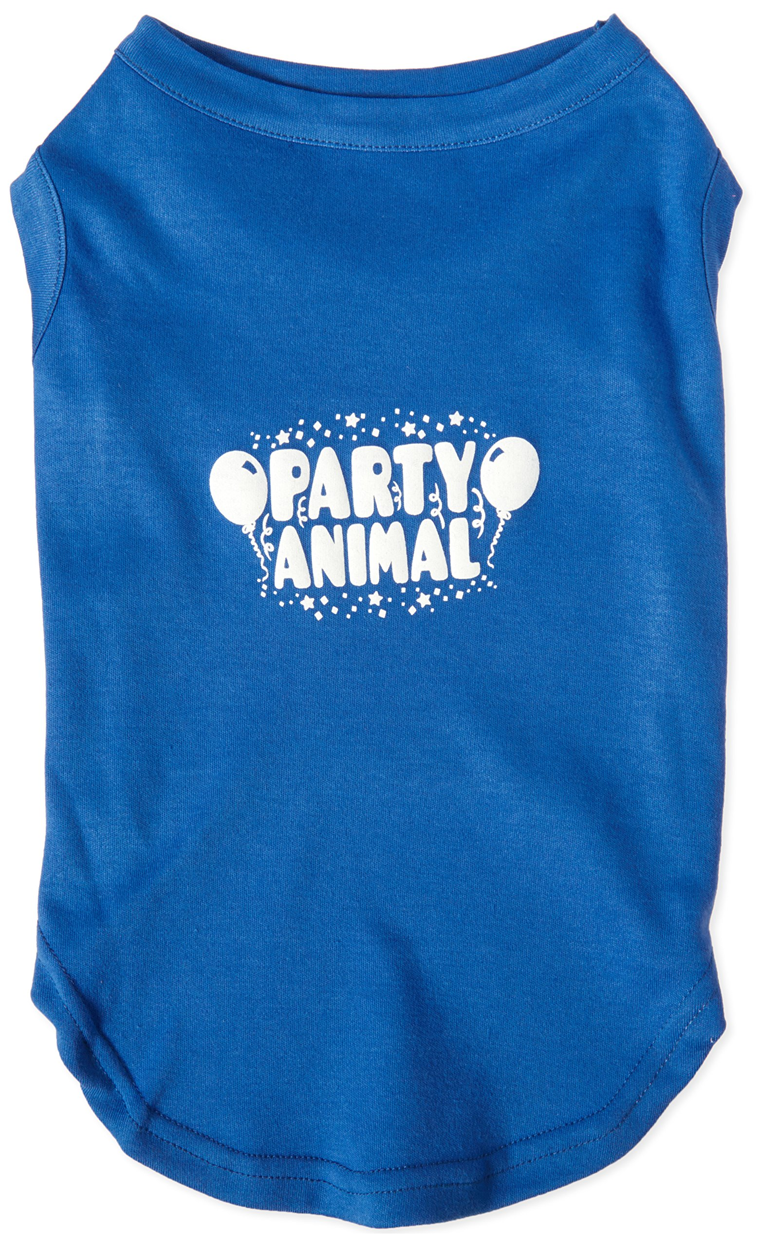 Mirage Pet Products Party Animal Screen Print Shirt Blue XL (16)