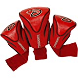 Team Golf MLB Unisex 3 Pack Contour Headcovers