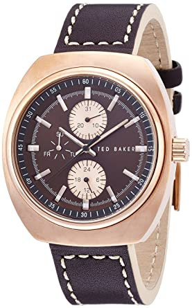 c51513a5 Amazon.com: Ted Baker Men's TE1130 Sport Analog Display Japanese ...