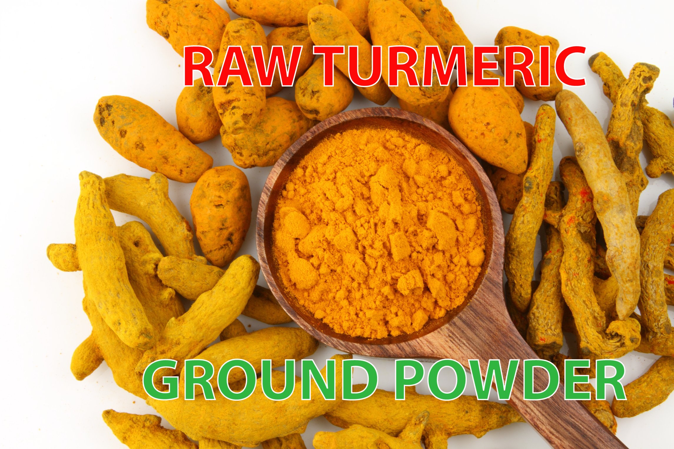 Sweet Sunnah Turmeric Root Ground (Alleppey, 5% Curcumin), Turmeric Powder - Curcumin Powder - Pesticides Free - Gluten-Free & Non-GMO 1 Pound