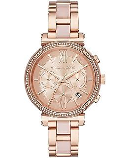 cc8ab9f6b070 Amazon.com: Michael Kors Women's Parker Two-Tone Watch MK5896 ...