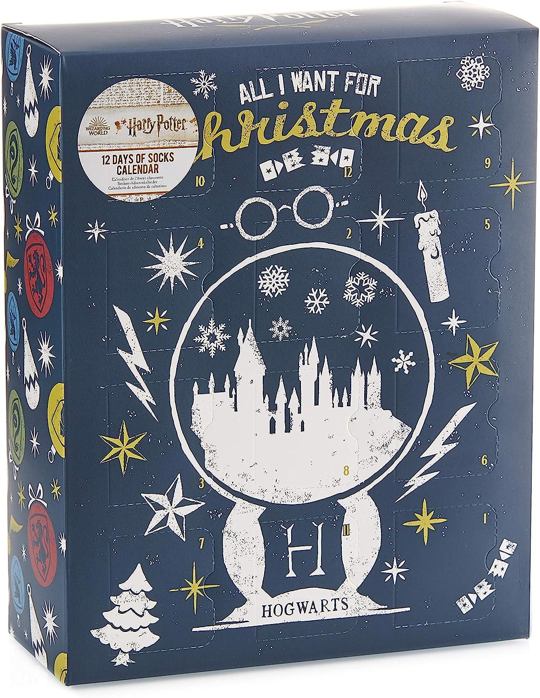 Paladone Calendario de adviento de Harry Potter Sock – Producto Oficial