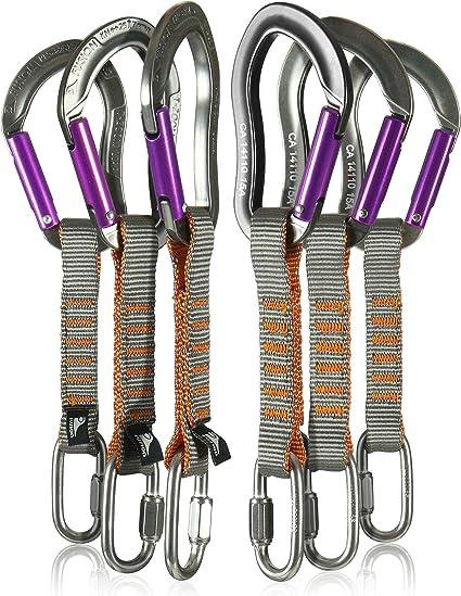 Fusion Climb 6-Pack 11cm Juego Quickdraw con 1/4