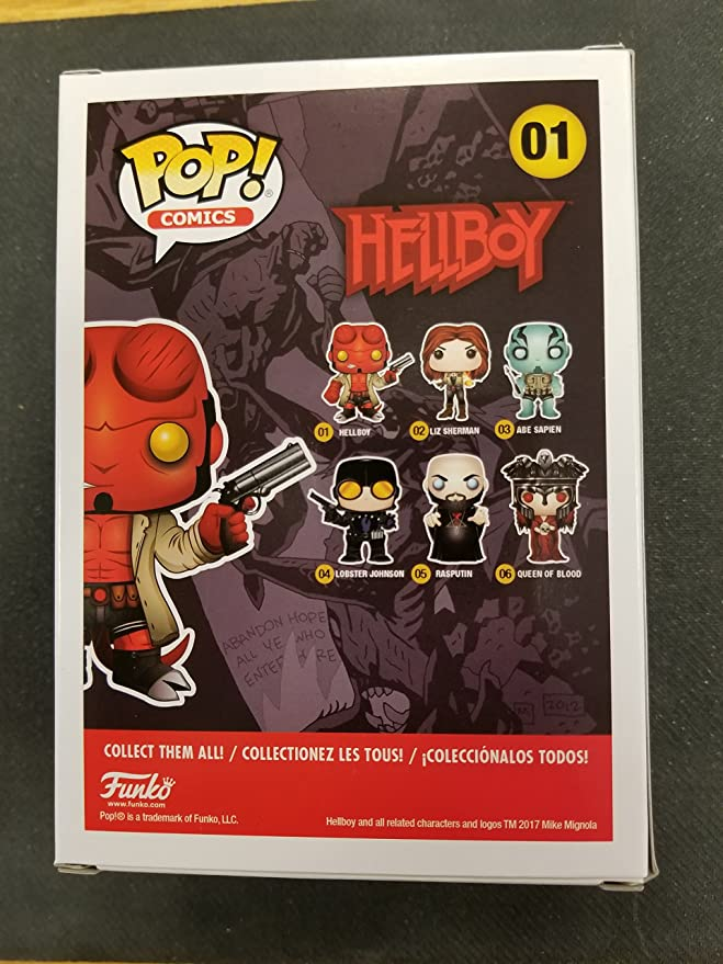 Funko Pop Hellboy Limited Chase