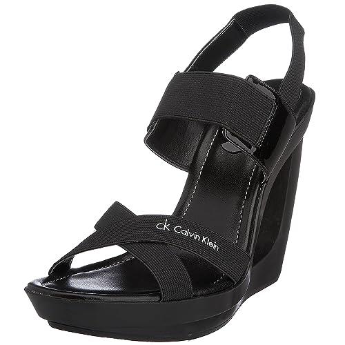5151e7ec18 Calvin Klein Sandalo Donna N10072 Yusra Elastic