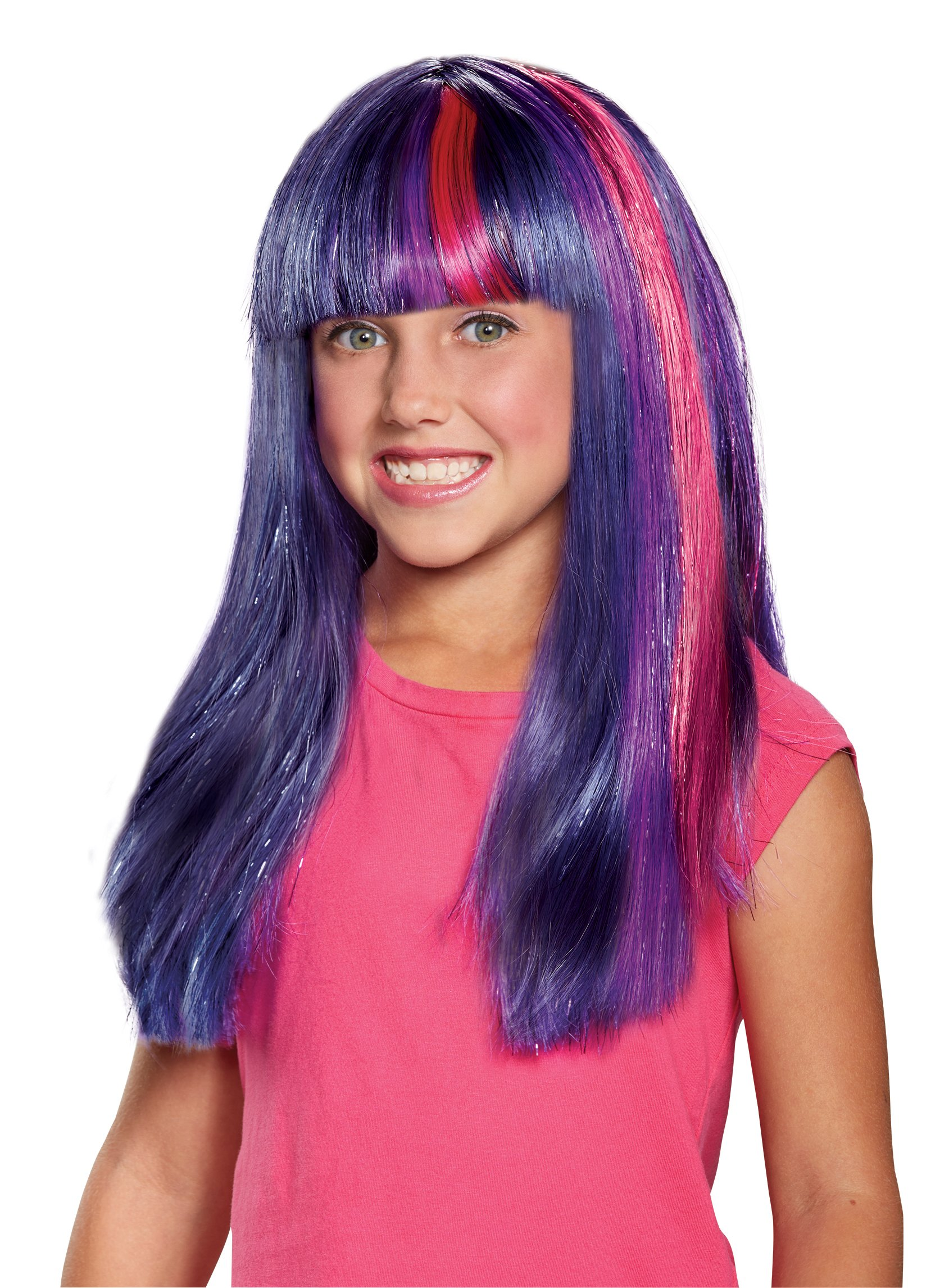 Twilight Sparkle Movie Child Wig by Disguise