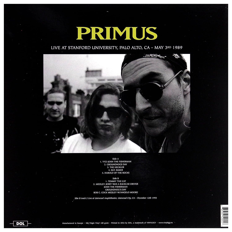 PRIMUS - Live In California Palo Alto May 3  1989 & Universal City