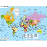 Buy World Political Map School Office Map Wall Map Huge Size