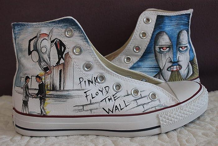 4dbac0ffbc7f6a Amazon.com  Canvas Sneakers Men Pink Floyd Shoes For Women Sale White  Canvas Shoes Men  Handmade