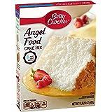 Betty Crocker Super Moist Fat Free Cake Mix Angel Food 16.0 oz Box