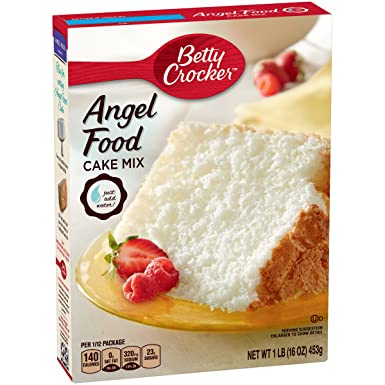 Betty Crocker Angel Food Cake Mix 16 Oz 453g