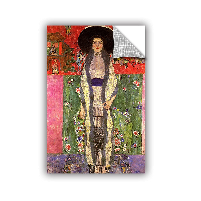 12 by 18 ArtWall Gustav Klimts Adele Bloch Bauer Appeelz Removable Graphic Wall Art
