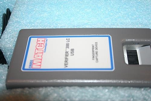 Crossmatch Verifier 300 LC Biometric Fingerprint Capture USB 920062