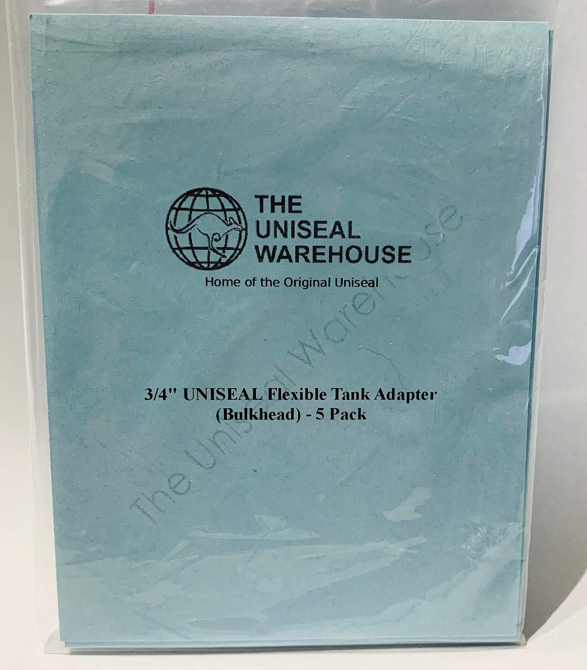 R 1-1//2 Natural Uniseal Pipe-to-Tank Seal The Uniseal Warehouse Pack of 5