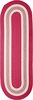 product image for Crescent Rugs, 2' x 6', Magenta Pink