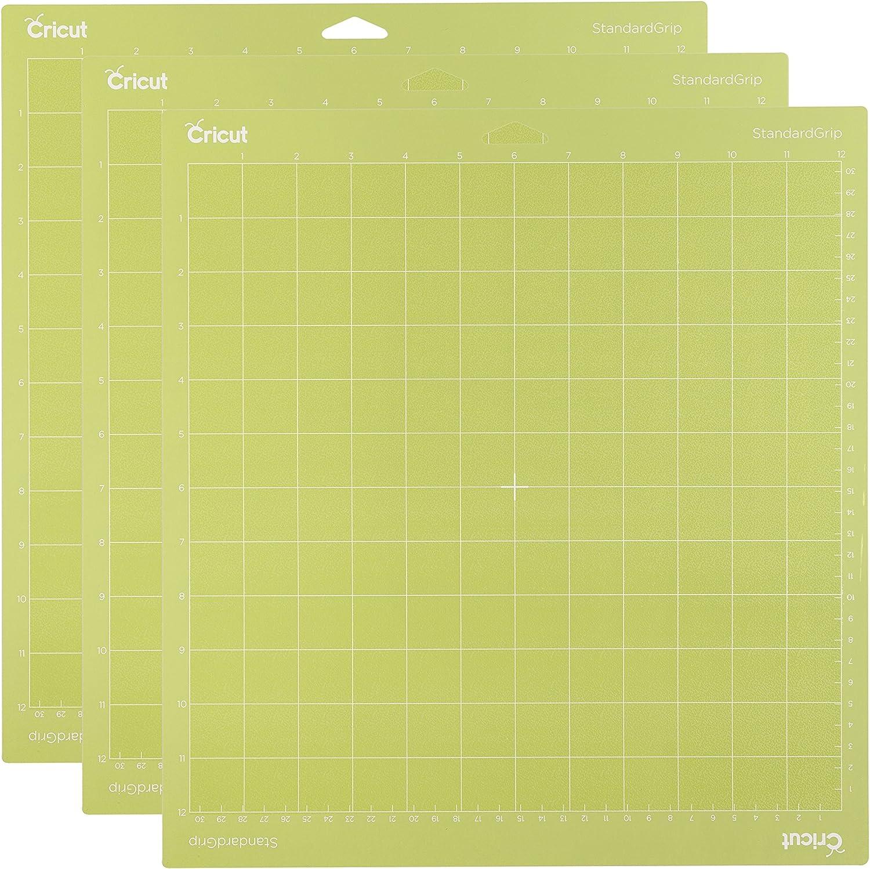 3 Alfombrillas de Corte Adhesivo Cricut (30x30cm)