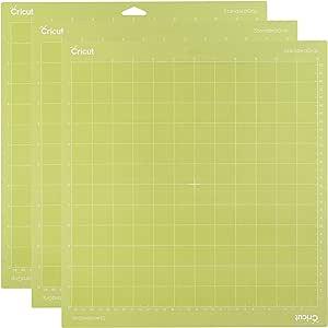 "Cricut StandardGrip Adhesive Cutting Mat 12""x12"" - For Cricut Explore Air 2/Cricut Maker - 3 Pack"
